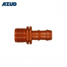 Závitový přechod nástrčný 16-20 mm, ABS Azud GreenTec
